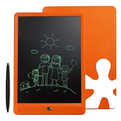 Smibie Zeichenpad 10'' LCD Schreibpad mit Stylus Orange