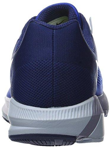Nike Herren Air Zoom Structure 21 Laufschuhe Blau (Mega Blue/binary Blue/light Armoury Blue/white)