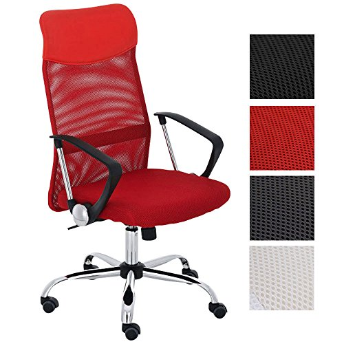 CLP Silla De Oficina Washington Tapizada En Red & Polipiel I Silla...