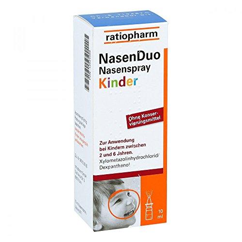 Nasenduo Nasenspray Kinder 10 ml