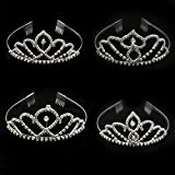 #6: Party Wear Hair Accessories Tiara/Crown/Hairband/ for Women and Girls - 1pcs