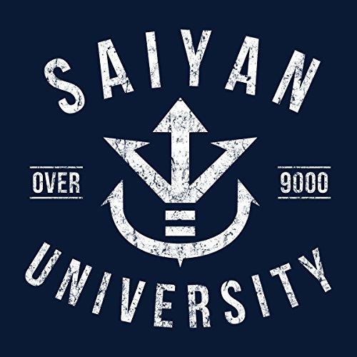 Saiyan University Dragon Ball Z Men's Vest Navy Blue