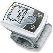 Sanitas SBM 03 Unterarm-Blutdruckmessgerät 651.21, LCD-Display 1 x 60 Speicher