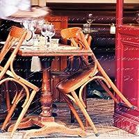 Paris Cafe lettera by Sue Schlabach, disponibile–Stampa