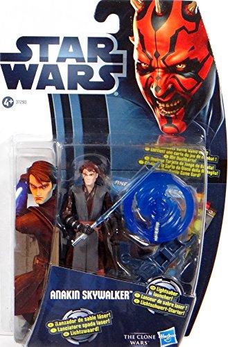 Anakin Skywalker with Lightsaber Launcher CW1 Star Wars - The Clone Wars 2012 von Hasbro