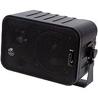 Dynavox 3-Wege Lautsprecher Mit Halterung Schwarz