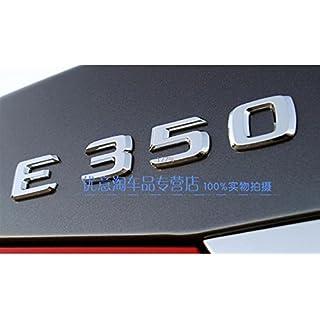 E681 E350 Emblem Badge auto aufkleber 3D Schriftzug hinten Abziehbild Car Sticker Plakette