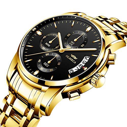 dc3a917bc676 Reloj de Pulsera para Hombre de Moda Masculino para Negocios de Hombre