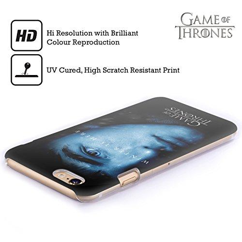 Offizielle HBO Game Of Thrones Jon Snow Winter Is Here Ruckseite Hülle für Apple iPhone 5 / 5s / SE Bran Stark