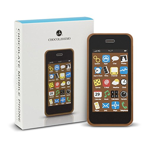 ChocoSmartphone - Handy aus Schokolade, Smartphone Schokolade, Schokoladenfigur, Schokolade Geschenk