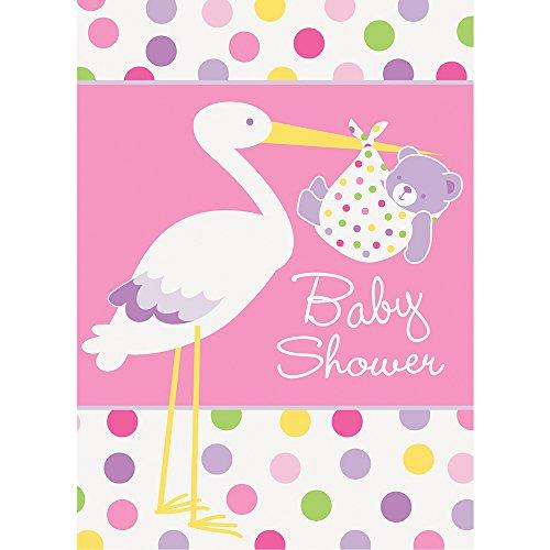 Solo doccia inviti partito Cicogna Baby Girl