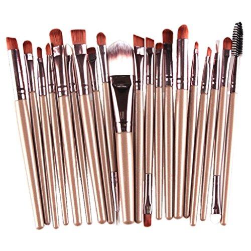 Susenstone 20 pcs/sets Maquillage Outils Maquillage Toilette Kit Laine Faire Up Brush Set