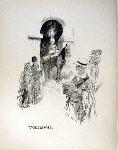 Circo di Whitehall della Guardia di Cavallo di Schizzo di C1935 Frank Hart