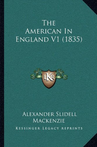 The American in England V1 (1835)