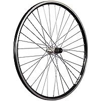 Taylor Wheels 28 pollici ruota posteriore bici ZAC2000 7-10 vel. nero/argento