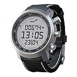 Suunto Multifunktionsuhr Armbanduhr 'Elementum Terra' Black Leather - Höhenmesser Kompass Barometer