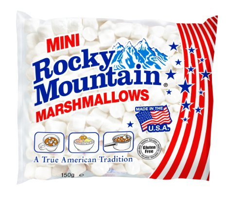 Rocky Mountain Marshmallows Minis 150g, 6er Pack (6 x 150 g)