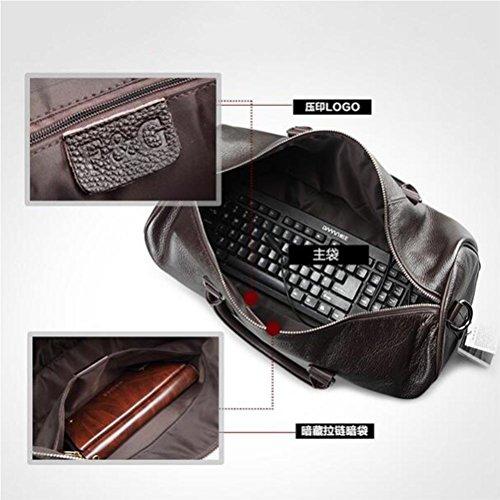 483fdad1846e0 ... Trend Männer Umhängetasche Geschäft Aktentasche Handtasche Reisen  Arbeit Computer Tasche Black