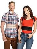 ®BeFit24 Premiumklassiger Geradehalter zur Haltungskorrektur für Damen und Herren - Rückenstütze, Haltungstrainer, Rückenstabilisator, Haltungskorrektur Rücken, Posture Corrector [ Size 0 - Schwarz ]