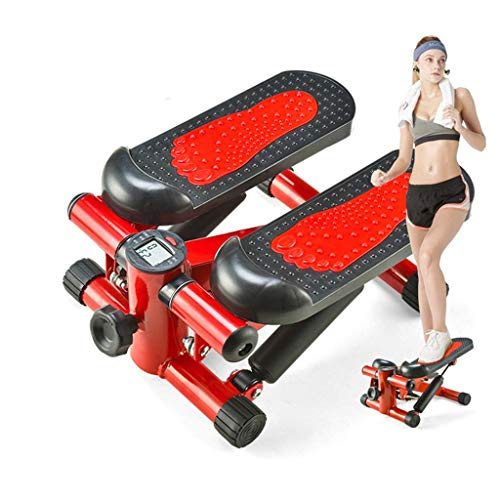 YFFSS Sunny Health and Fitness Verstellbare Mini-Stepper-Fitnessgeräte