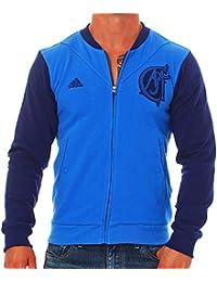 adidas Veste de Sport pour Homme Real Madrid g90543 Veste de survêtement de  Sport ef55bdd0678