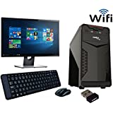 ROLLTOP™ Assembled Desktop Computer|INTEL CORE 2 DUO 2.9 GHZ Processor |G 31 FRONTECH/ZEBRONICS Motherboard |Consistent 15 Inch LED Monitor |2 GB RAM | 250 GB Hard Disk| INTEX/FRONTECH Cabinet | FRONTECH Keyboard Mouse | Mini Wi Fi USB Adaptor | Win