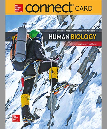 Human Biology McGraw-Hill Connect Access Code (Skechers Athletic)