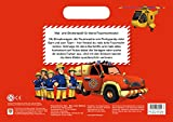 Feuerwehrmann Sam: Mein erstes Malbuch: Malbuch mit Henkel und Stickern für Feuerwehrmann Sam: Mein erstes Malbuch: Malbuch mit Henkel und Stickern