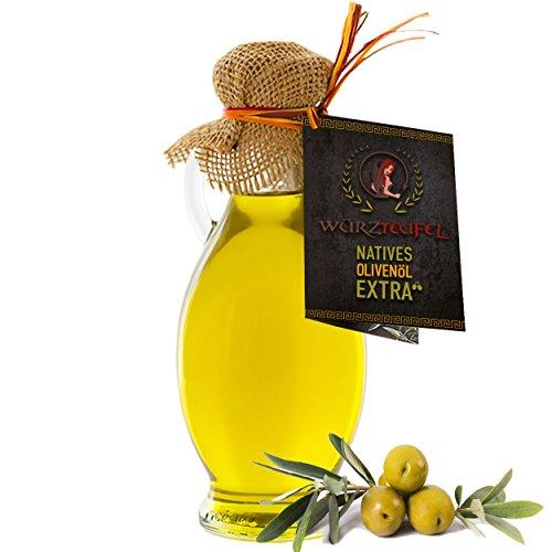 Olivenöl, Natives, Extra Vergin Olivenöl aus Griechenland. Ungefiltert. Kaltgepresst. Traditionelle Herstellung im Familienbetrieb. AMPHORE IRGIZIA - Flasche 250ml.