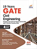 #4: 19 years GATE Civil Engineering Chapter-wise Solved Papers (2000 - 18) with 4 Online Practice Sets