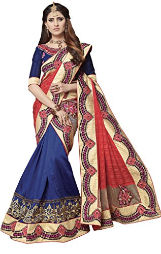 S. Kiran's Women's Designer Biege Mekhela Cut-Work Chador - Mekhla Sador Joda