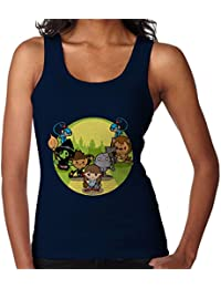 Wizard of Oz Dorothy And Friends Yellow Brick Road Women's Vest