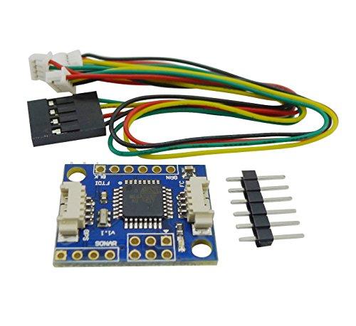 Aihasd I2C-GPS NAV Navigation Modul GPS board für CRIUS MultiWii MWC Navigation Modul
