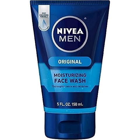 NIVEA FOR MEN Original Moisturizing Face Wash 5 oz by