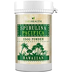 150g Spirulina powder. Hawaiian Spirulina Pacifica