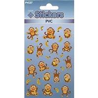 PVC Monkey Stickers