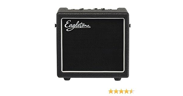 Eagletone AERO 8 V2 Ampli Guitare à modélisation 8W Noir