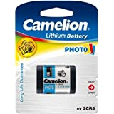 1 pile Photo Camelion 2CR5M, 6V, Lithium [ Piles pour appareil photo ]