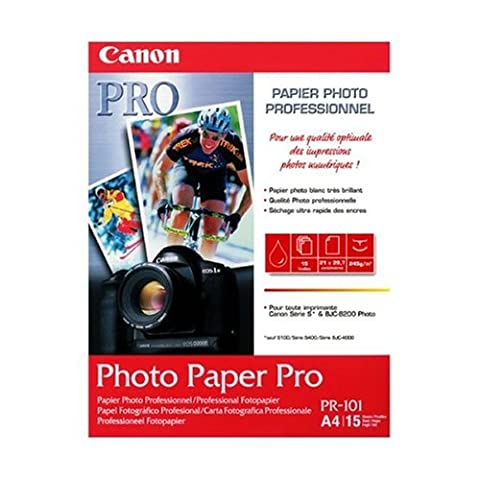 Canon Photo Paper Pro PR101 papier photo A4 15 feuilles