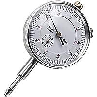 Calibre de precisión de 0,01 mm para indicador de esfera, calibre 0 – 10 mm, medidor preciso de 0,01 mm, indicador de resolución, medidor de malla, herramienta de herramienta