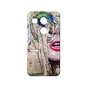 BLUEDIO Designer 3D Printed Back case cover for LG Nexus 5X - G2444