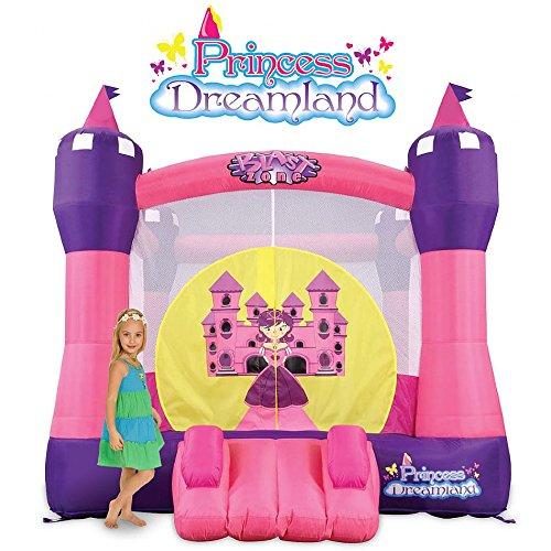Blast Zone GE-RINCESSDREAMLAND Princess Dreamland Inflatable Bounce House Castle
