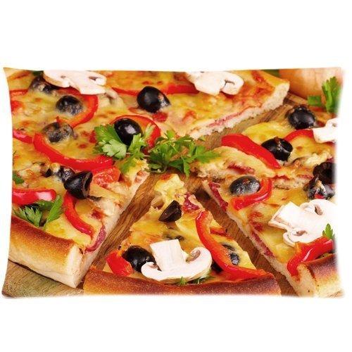 pizza-food-impreso-con-cremallera-fundas-de-almohada-cubierta-20-x-30-pulgadas