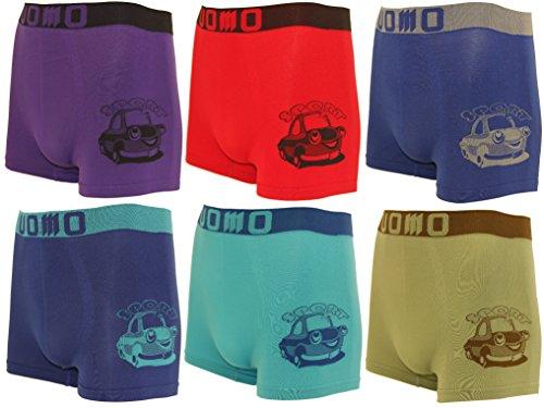 6er Pack Jungen Kinder Boxershorts/Unterhosen , Auto  , 104-116 (Herstellergröße: Talla 2/4) (Nadelstreifen Für Autos)