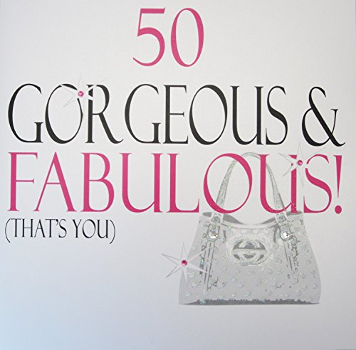 White Cotton Cards, 50 Gorgeous & Fabulous, That's You