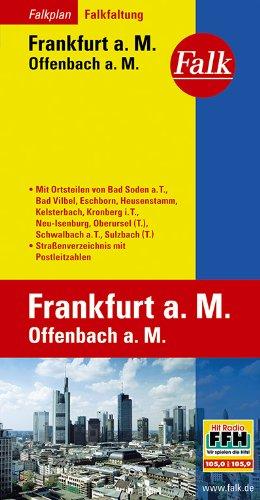 Falkplan Falk-Faltung Frankfurt/Main, Offenbach