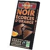Alter eco chocolat noir écorces d'orange bio 100g - ( Prix Unitaire ) - Envoi Rapide Et Soignée