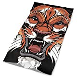 pigyear888 Cool Lion Outdoors & Daily Headwear,Bandana,Headband,Neck Gaiter,Balaclava,Helmet Liner For Running Riding Skiing Hiking