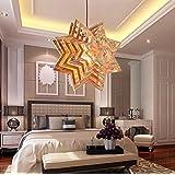 Personalidad creativa estrella candelabro de madera,Star