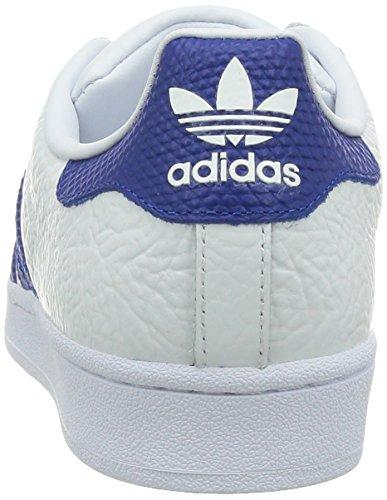 adidas Herren Superstar Animal Sneakers Weiß (Ftwr White/Collegiate Royal/Gold Met.)